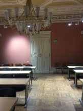 Angola-American University classroom