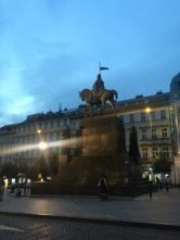 St. Wenceslas Statue at St. Wenceslas Square