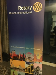 The first English-speaking Rotary club in Munich