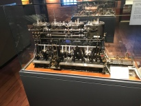 mini-scale model of a coal-fired powerplant for a steamer
